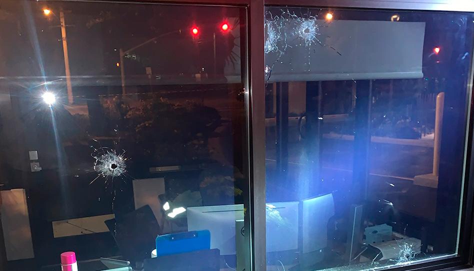 Tiros disparados contra a equipe de segurança do CTM de Provo