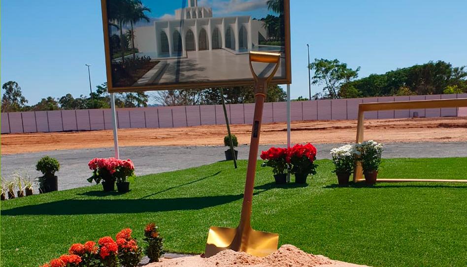 Confira como foi a cerimônia de abertura de terra do templo de Brasília