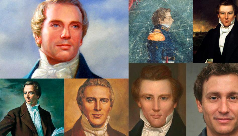 A tecnologia mostra como seria o rosto de Joseph Smith