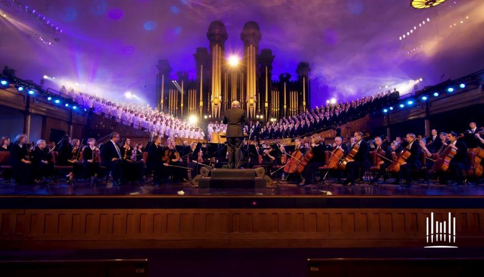 O Coro do Tabernáculo comemora 110 anos de sua primeira gravação com um novo vídeo musical de Star Wars