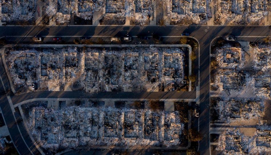 Santos dos Últimos Dias perdem suas casas devido a um terrível incêndio nos EUA
