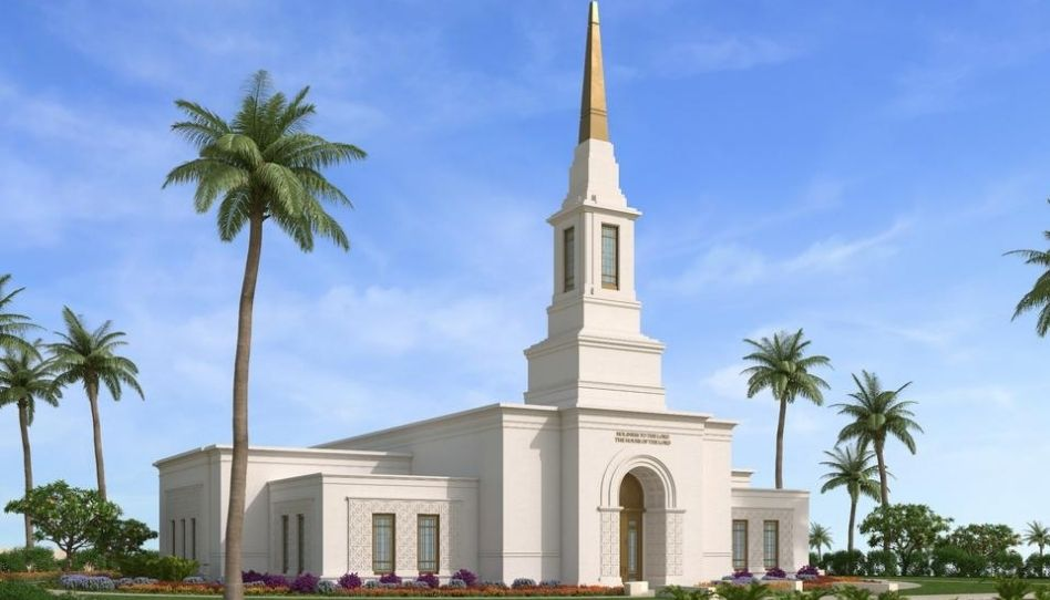 Igreja de Jesus Cristo publica renderização gráfica do Templo de Papua Nova Guiné