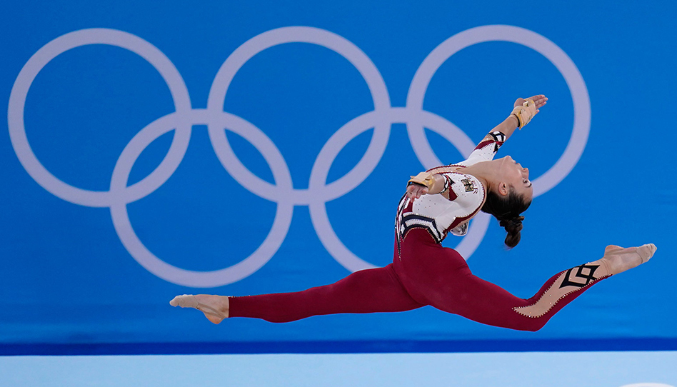 Ginastas alemãs nas Olimpíadas: Uma lição sobre coragem e recato