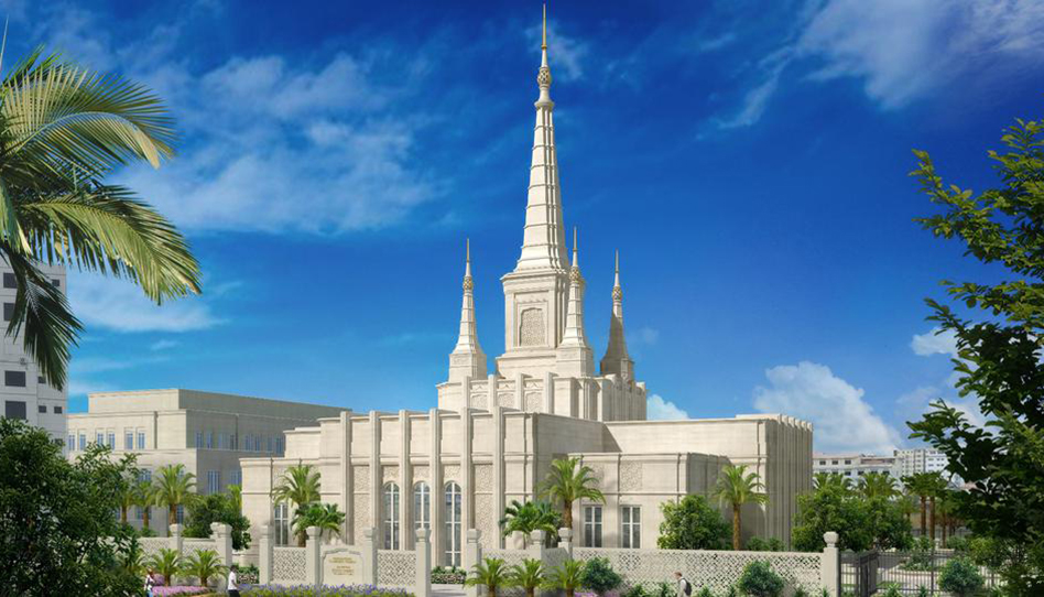 renderização templo camboja