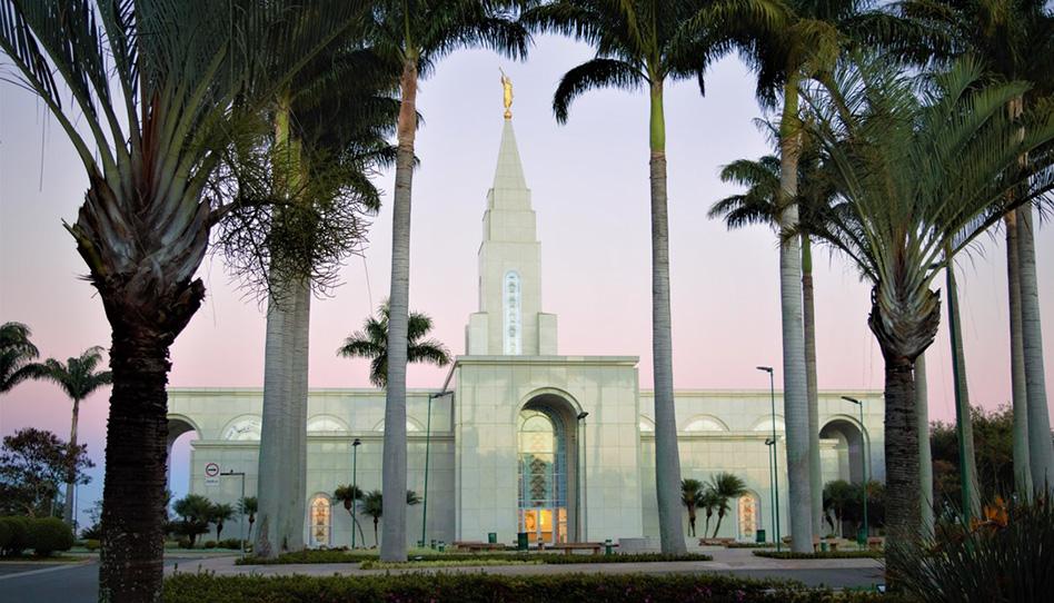templos no Brasil com todas as ordenanças disponíveis